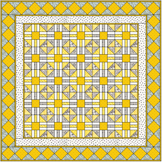 Patchwork Quilt Block Patterns Free : mellow_yellow_quilt_free_pattern_web