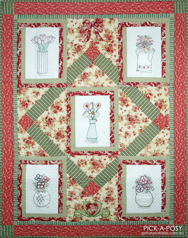 Pick A Posy Quilt